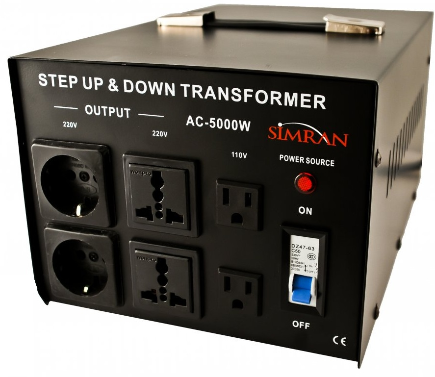 Simran Ac 5000 Step Up And Down 5000 Watts Voltage