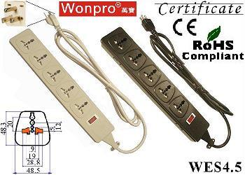 Wonpro Universal 5-Outlet Power Strip