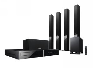 PIONEER HTZ282 REGION FREE DVD HOME THEATRE SYSTEM FOR 110-220 VOLTS