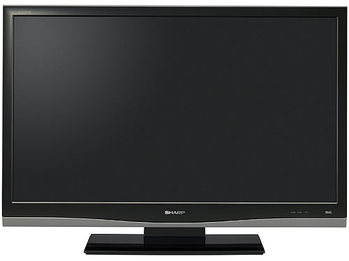 """Quantity in Basket:none.  Sharp LC-46A65M 46 """" multi-system LCD tv for 110-240 volts."""