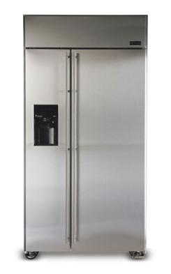 ge 25 cu ft zsgs420dm side by side freezer refrigerator. Black Bedroom Furniture Sets. Home Design Ideas