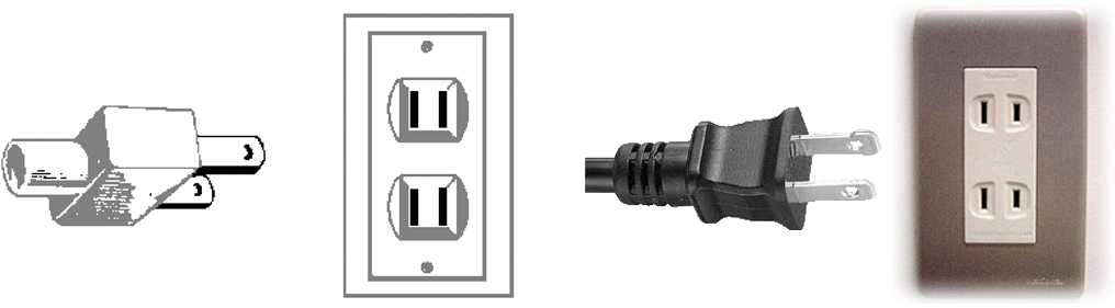 Outlet Plug Type A Outlets Voltage Plug Type A Nema 1