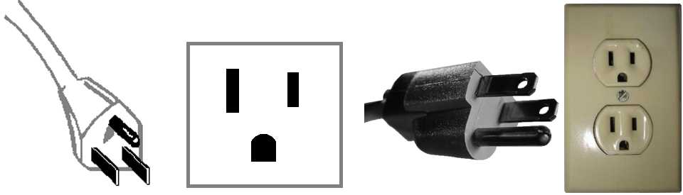 TYPE B plugs and outlets