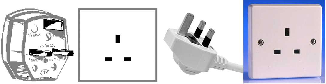 Outlet Plug Type G, Outlets, Voltage, Plug Type G, BS 1363 British