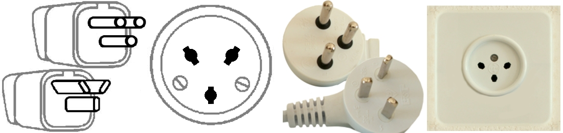 TYPE H plugs and outlets
