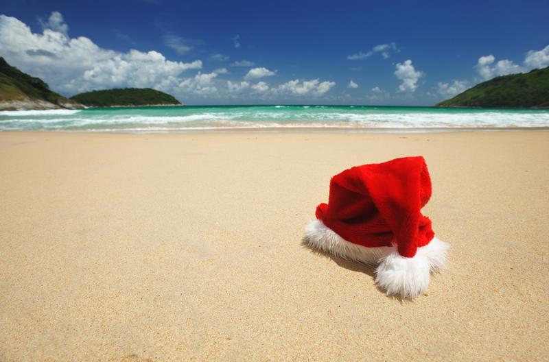 image via wwwtourismfijicom - Summer Christmas