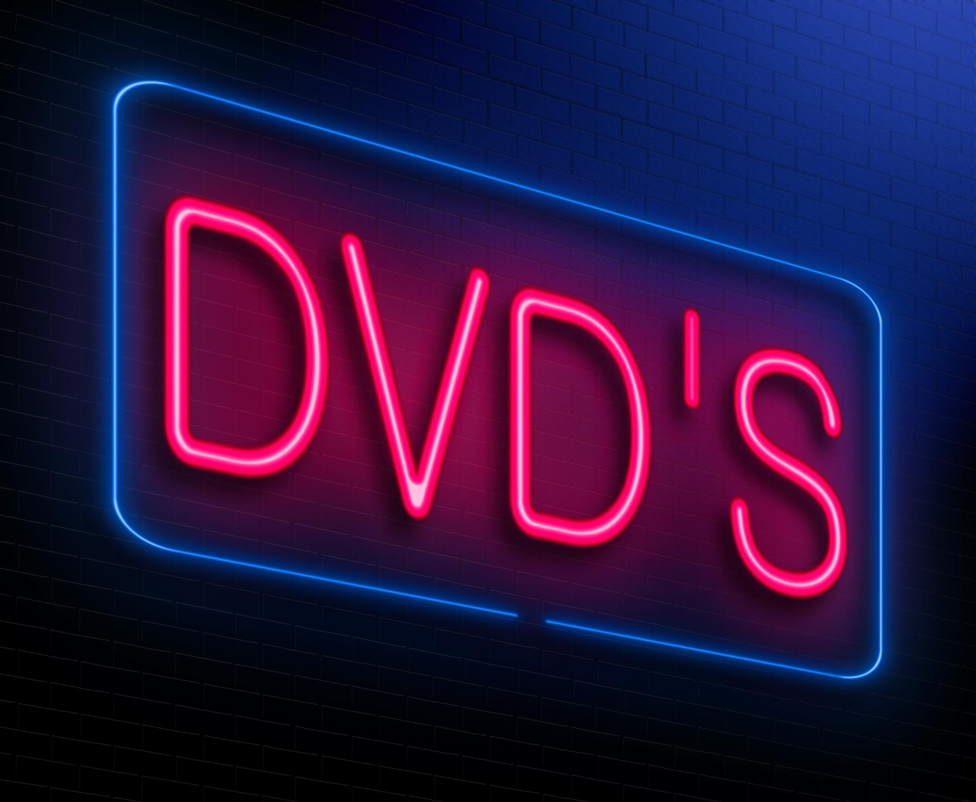 DVD's Sign