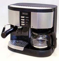 delonghi 3 in 1 bc0255 pumped combo coffee espresso maker - Coffee And Espresso Maker