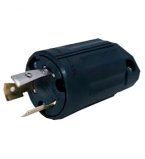 Regvolt 20 Amp, 250 Volt, NEMA L6-20P, 2P, 3W, Locking Plug, Industrial Grade, Grounding (Clearance Sale)