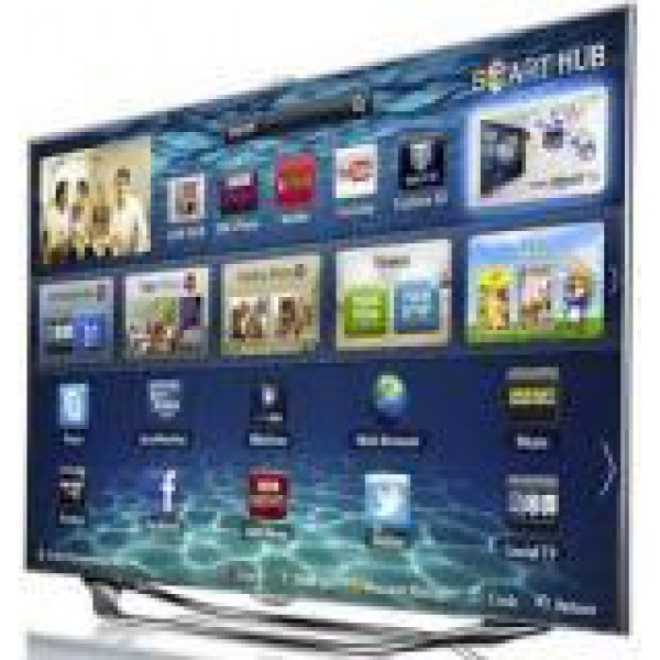 Samsung 55 Inch Ua55es8000 Smart 3d Led Mutlisystem Tv 110 220 Volts