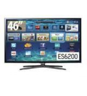 Samsung 46 Inch UA46ES6200 Full HD 3D Smart LED Multisystem TV 110 220 Volts
