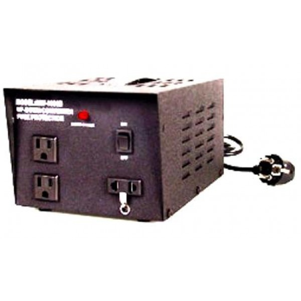 Seven Star TC-2000, 2000 Watts Step Up and Down Voltage Converter  Transformer 110-220 Volts