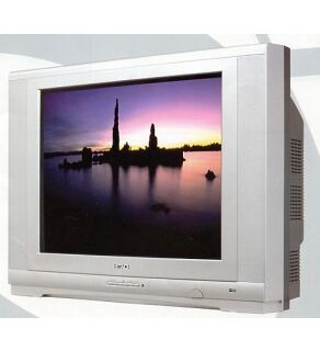 "Hitachi 21"" Twin Speaker Multi System Stereo TV"