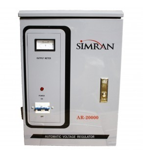 Simran 20,000 Watts Step Up and Down Voltage Converter Regulator Transformer AR20000, 110-220 Volts