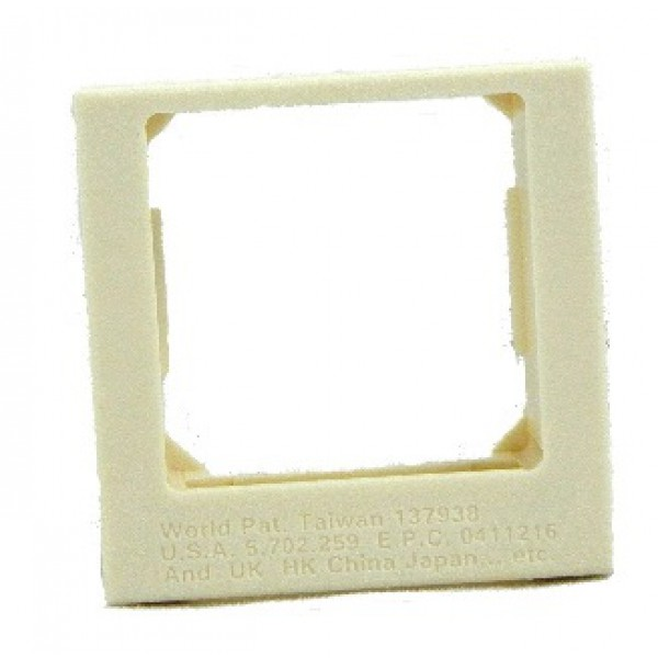 Wonpro Bsf Inlay Way Panel Frame Single Outlet Panel Face