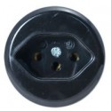 Type J Electrical Receptacle Outlet for SEV1011 Switzerland Panel Mount