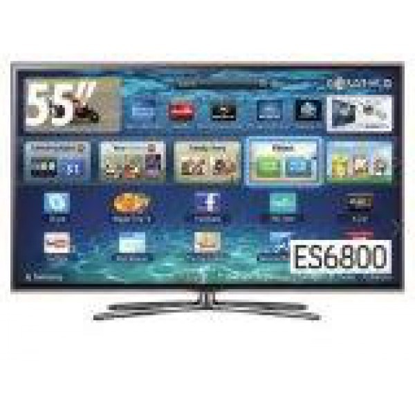 Samsung 55inch Ua55es6800 Smart 3d Led Multisystem Tv 110 220 Volts