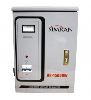 Simran 15,000 Watts Step Up and Down Voltage Converter Regulator Transformer AR15000, 110-220 Volts