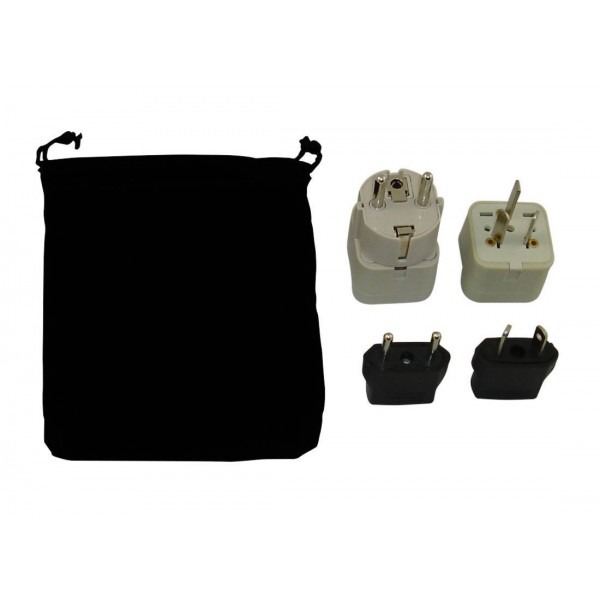 Argentina Power Plug Adapters Kit With Travel Carrying