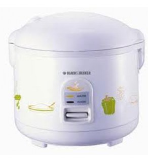 Black & Decker RC40 DELUXE 10 Cup Non-Stick Coated Bowl Rice Cooker FOR 220 VOLTS