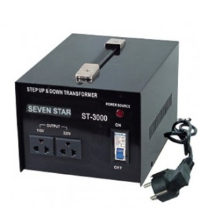 Seven Star ST-2000, 2000 Watts Step Up and Down Voltage Converter Transformer