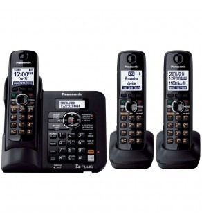 Panasonic DECT 6.0 Cordless Phone with Anwering System, 110 220 Volts