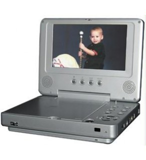 "Wanlida Portable Dvd Player 7"" 16:9 Screen With Dolby Digital Decoder"