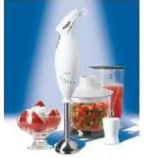 OSTER 2616 Stick Hand Mixer With chopper and Whisk FOR 220 VOLTS