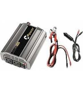 DC Powerpack-400 Watt Inverter Combination with Built-In Air Compressor