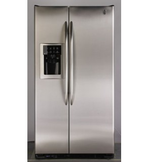 Ge 23 Cu.Ft Pce23Nhtf-Ss Side By Side Refrigerator 220 Volts