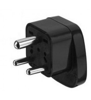 Universal Shucko adapter to South Africa & India Grounded Power Plug Adapter