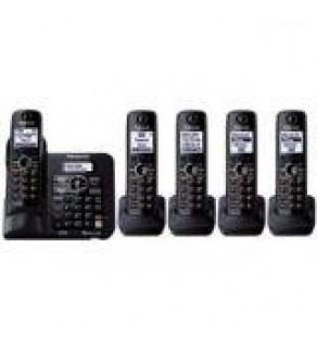 Panasonic KX-TG6645 Dect 6.0 Plus Expandable Digital Cordless Answering System, 5 Handsets
