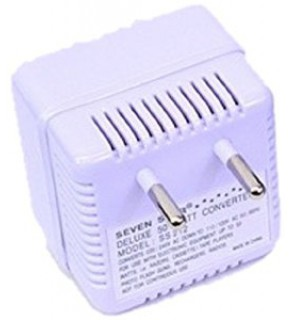 Seven Star SS-212 Voltage Converter 50 Watt Travel Step Down 220-240 Volts to 110-120 volts