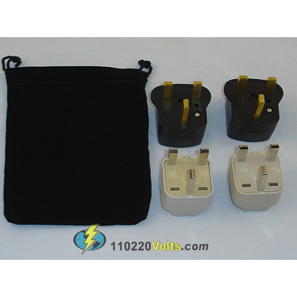 Kenya Power Plug Adapters Kit With Travel Carrying Pouch