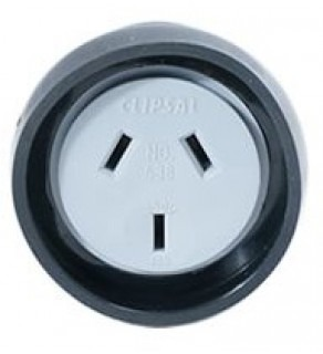 Type I Electrical AC Female Connector For Australia 10 Amps