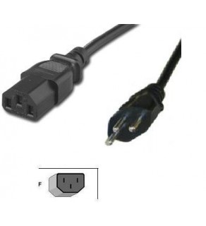 Switzerland power cord 8ft