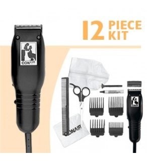 Conair HC102RGB 12 Piece Kit hair clipper 110 220 Volts