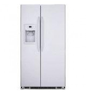GE 20 cu ft GSE20JEZF-WW Freestanding Side-by-Side Refrigerator 220 Volts