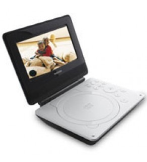 "Toshiba 7"" SDP-74 Portable LCD/DVD Player 110 220 Volts (Default)"