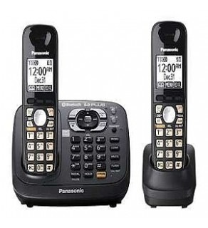 Panasonic KX-TG6582T DECT 6.0 PLUS Cordless Phone with Answering System