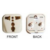 WonPro WA-20 Universal to Denmark Grounded Plug adapter