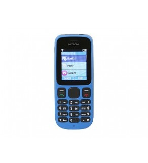 Nokia 100 Blue Unlocked GSM Phone (Default)