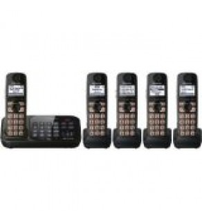 Panasonic KX-TG4745B DECT 6.0 Cordless Phone with 5 Handsets FOR 110-220 VOLTS