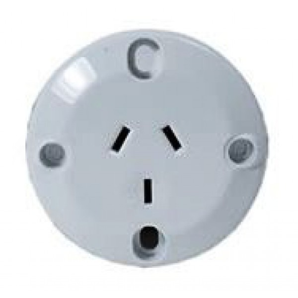 Type I Electrical Receptacle Outlet For Australia New Zealand Panel Mount