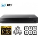 Sony BDP-S5500 Multi Region Code Free DVD 3D WiFi Blu-ray Disc Player