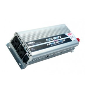 Dual-Outlet 600 Watts DC to AC Power Inverter with Soft Start