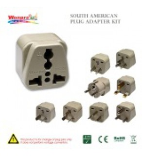 South American Plug Adapter Kit