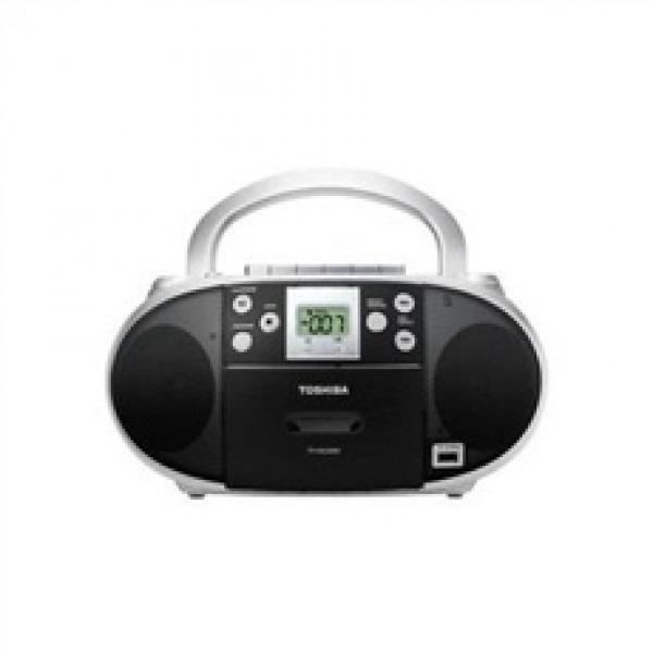 Toshiba Portable Cd Usb Radio Cassette Player Recorder 110