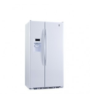 Ge 23 Cu.Ft Pce23Tgxf-Ww Sid By Side Refrigerator 61 Cm Depth 220 Volts