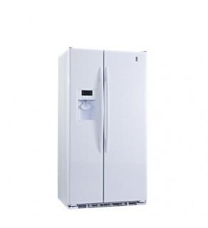 Ge 23 Cu.Ft Pce23Tgxf-Ww Sid By Side Refrigerator 61 Cm Depth 220 Volts